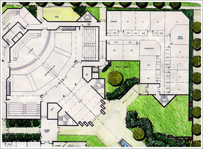 Florida Hospital - Sevent Day Adventist Church Site Plan